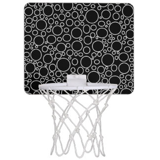 Blasen-schwarzer MiniBasketballkorb Mini Basketball Ring