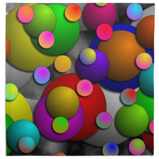 Blasen-Servietten Stoffserviette