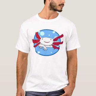 Blasen-Shirt des Axolotl (Weiß keine Stellen) T-Shirt