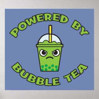 Blasen-Tee, angetrieben durch Blasen-Tee - Poster