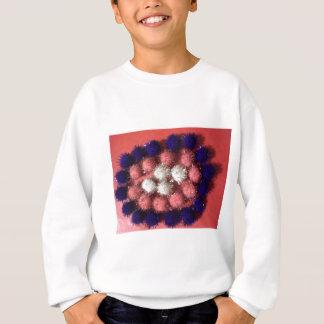 Blasen und Punkte Sweatshirt