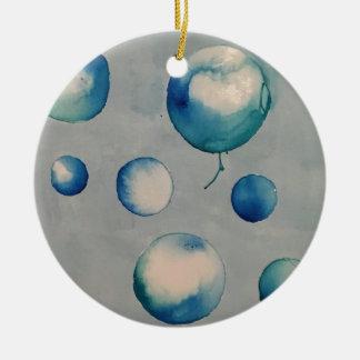 Blasenelektronik Rundes Keramik Ornament