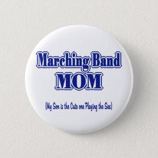 Blaskapelle-Mamma-Saxophon Runder Button 5,1 Cm