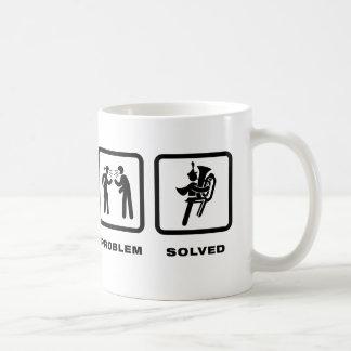 Blaskapelle - Tuba-Spieler Kaffeetasse
