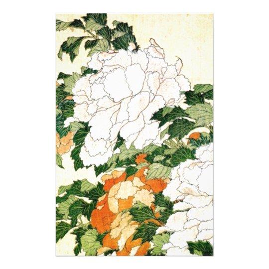 Blasse Blumen Briefpapier