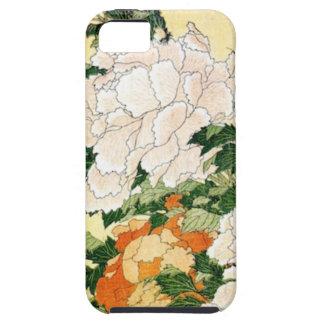 Blasse Blumen iPhone 5 Schutzhülle