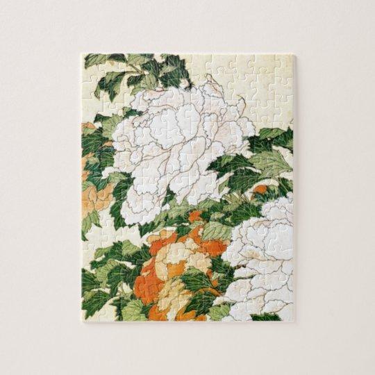 Blasse Blumen Puzzle