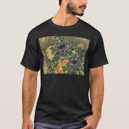 Blasse Blumen T-Shirt