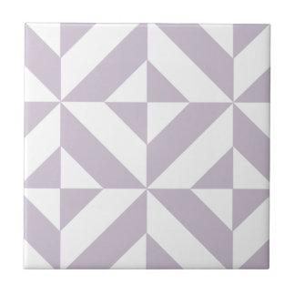 Blasse coole Trauben-geometrisches Fliese