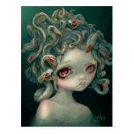 """Blasse Medusa-"" Postkarte"