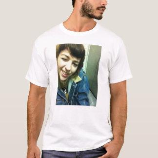 Blasser Selbstporträt-T - Shirt
