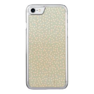 Blasser Tupfen-dünnes Ahorn iPhone 6/6s Carved iPhone 8/7 Hülle