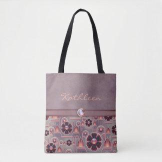 Blasses Lila/Lachs-HOCh Tasche