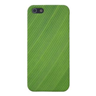 Blatt-Beschaffenheit iPhone 5 Schutzhülle