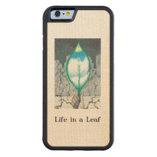… Blatt Bumper iPhone 6 Hülle Ahorn