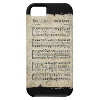 Blatt der Musik iPhone 5 Schutzhülle