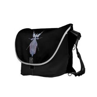 Blatt-Insekten-große Bote-Tasche Kuriertasche