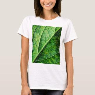 Blatt-Makro T-Shirt