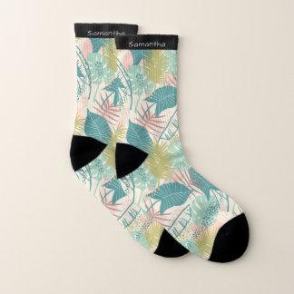 Blatt-Muster-Namesocken Socken