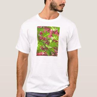 Blatt-Muster T-Shirt