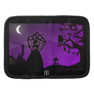 Blatt Planner, Purple & Black Unicorn Silhouette - Mappen