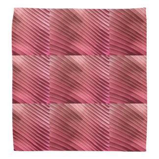 Blatt-rote Diagonale Kopftuch