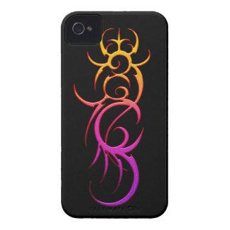 Blatt-Tätowierungs-BlackBerry mutiges 9700/9780 Case-Mate iPhone 4 Hüllen