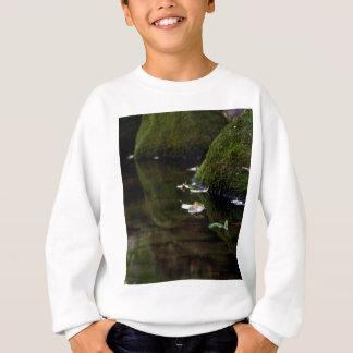 Blatt u. Nebenfluss Sweatshirt