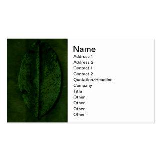 Blatt-Visitenkarte-Schablone Visitenkarten