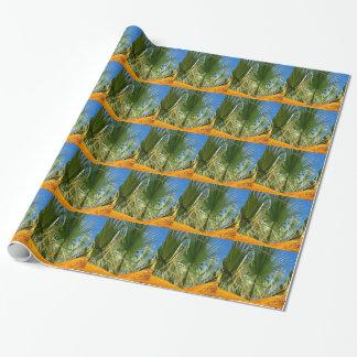 Blätter der Palme Geschenkpapier