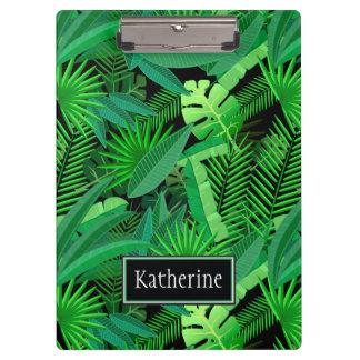 Blätter der tropischen Palmen | addiert Ihren Klemmbrett