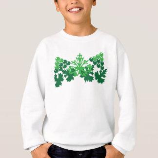 Blätter mit Trauben Sweatshirt