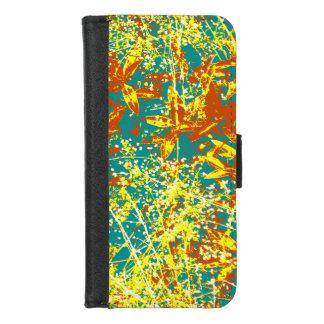 Blätter rostiges Braunes und gelb iPhone 8/7 Geldbeutel-Hülle