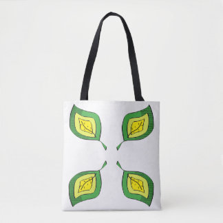 Blätter Tasche