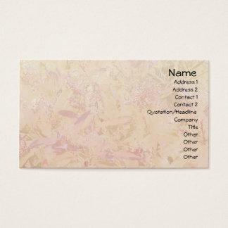Blätter-u. Beeren-helle Geschäfts-Karte Visitenkarte