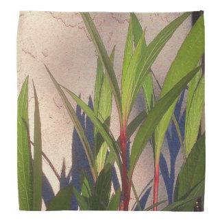 Blätter und Schatten Kopftuch