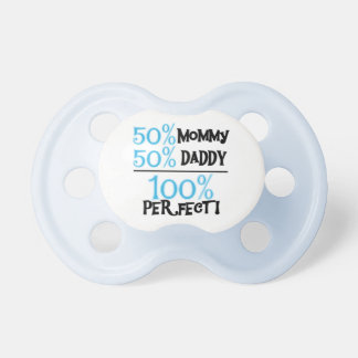 Blau 100 Prozent vervollkommnet Baby-Schnuller Schnuller