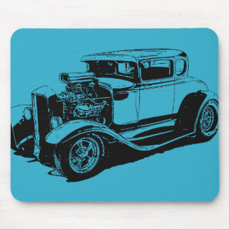 Blau 1931 5 Fenster-Coupé Mauspad