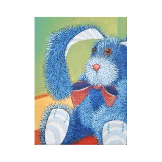 Blau angefülltes Häschen, Kaninchen Leinwanddruck
