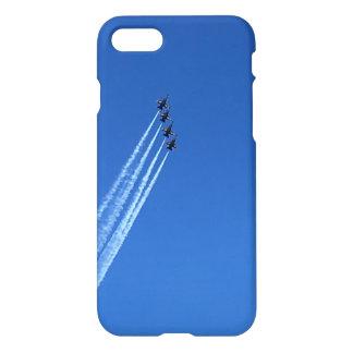 Blau angelt Iphone 7/8 Fall iPhone 8/7 Hülle