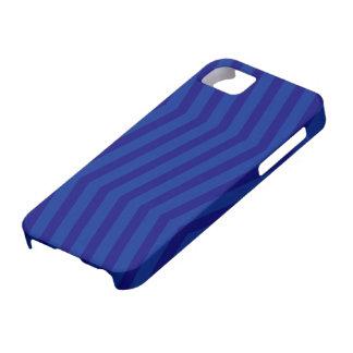Blau auf blauer Zickzack-Muster iPhone 5 Abdeckung Schutzhülle Fürs iPhone 5