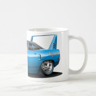 Blau-Auto 1970 Plymouths Superbird Kaffeetasse