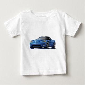 Blau-Auto Korvette ZR1 Baby T-shirt