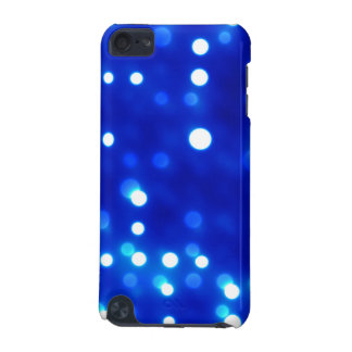 Blau beleuchtet Tupfen-Muster iPod Touch 5G Hülle
