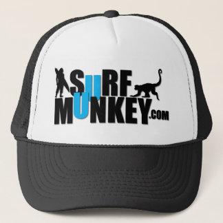 Blau - Brandung Munkey Anschlagtafelentwurf Truckerkappe