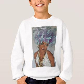 Blau Dame V Sweatshirt