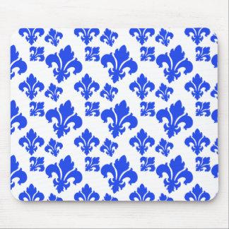 Blau der Lilien-4 Mousepads