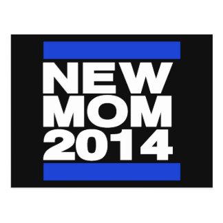 Blau der Mutteren-2014 Postkarte
