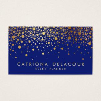 Blau der visitenkarte