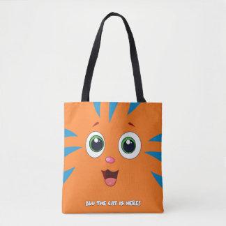 Blau die Katzen-Taschen-Tasche Tasche